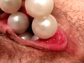 Filthy Blonde Insane Tinkerbell Orgasms With Extreme Injection Fucktoys Beads
