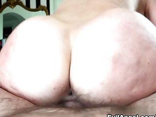 Exotic Superstars Cherie Deville, Manuel Ferrara In Crazy Blonde, Big Backside Pornography Scene