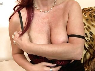 Ultra-kinky Unshaved Housewife Frigging Herself - Maturenl