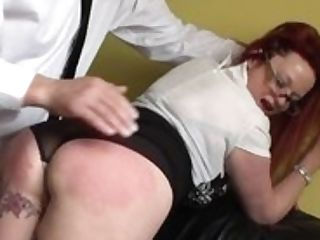 Matures Brit Sub Predominated Over And Porked