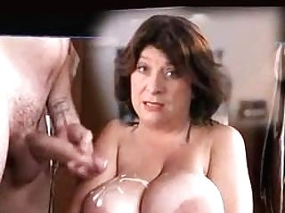 Caroline Quentin Jizm On Big Tits