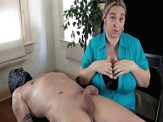 36h Breasts Female Dom Hand Jobs Meatpipe Evaluation