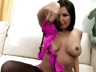 Mason And The Sexy Zoe Sundress In Undergarments And Have Some Hot
