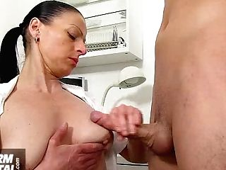 Tit Fuck With Giant Tits Mummy Doc Silvy Vee