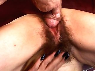 Old Bitch With Saggy Tits Luvs Youthfull Dude