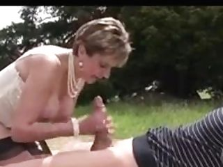 Lady Sonja Fucks A Dude In The Superb Outdoors