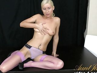 Crazy Porn Industry Star Vanessa Hell In Fabulous Getting Off, Stockings Pornography Scene