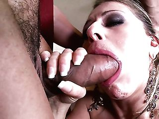 Big-titted Brown-haired Sweetie Rechel Roxx Rails And Deepthroats Thick Lollicock Of Her Bf