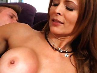 Delicious Latina Cougar Monique Fuentes Rails Humungous Milky Dick