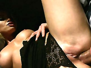 Delicious Bond Bitch With Big Tits Gets Banged In Rear End Pose By Her Macho