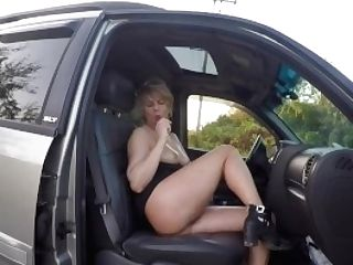 Mummy Nude In Public Side Of Highway Fuck Stick Joy